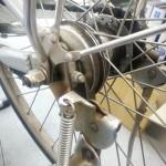 今日も電動アシストのブレーキ修理
