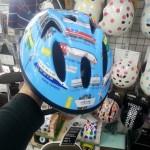 電車ヘルメット