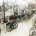 夏なので折り畳み自転車を・・・