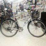 通勤クロスバイクの元祖 ミヤタのSJクロス 背の高い方にもおすすめです