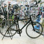漆黒のロードバイク シュイン ファストバック3のマットブラック