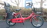 電動アシスト、子供乗せ自転車