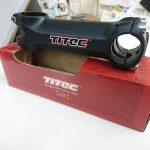 TITEC ハンドルクランプ径25.4mmのステム 110mm