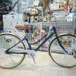 軽い自転車作りました 駐輪ラックもラクラクです マルイシソアラシティー26