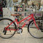 GIOS リーベ 26インチのレディース向け軽いクロスバイク