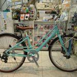 クロスバイクのようなシティーサイクルのような軽い26インチ自転車 コーダーエナフ26