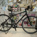 ちょっとだけ普通じゃないデザインのクロスバイク コーダーブルーム レイル700ーSE限定カモ柄