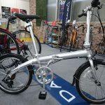 折り畳み自転車はDAHON VybeD7は手頃な価格のアルミフレームモデル