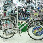 ステンレスリムを使ったお買い得自転車 マルイシ フォーメーション27インチ6段ギア