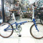 細身でお洒落な折り畳み自転車 ダホン ボードウォークi5