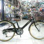 シンプルで大人っぽい子供自転車 ギムレットガールズ22と24