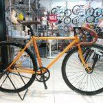 FUJI フェザー オレンジ 49cm 1台お買い得です