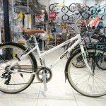 普段使いに便利なクロスバイク ジオスのリーベ26インチ