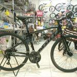 MTBぽいスタイルのクロスバイクで話題です スコット SUB CROSS J2