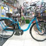 丈夫、軽い、扱いやすい、バランスのとれたアシスト自転車 ヤマハPASWith