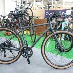太目タイヤのついたクロスバイク マリン ニカシオSE
