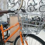 クロスバイク用軽いアルミ製バスケット