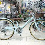 大人っぽいシンプル子供自転車 アンテロープガールズ