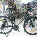 旬なクロスバイク② 油圧ディスクブレーキ+少し太目タイヤ+まあまあ軽い コーダーブルームRAIL700D