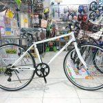 お手頃価格のクロスバイク