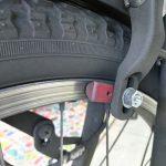 前ブレーキの異音に注意 車輪が壊れると大変な事になります
