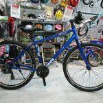 クッション感ある太目タイヤのクロスバイク M27.5