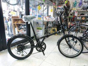 背の高い方でも乗りやすい走りのいい折り畳み自転車 コラット20