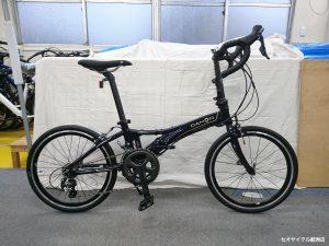 ロードバイクにとっても近いミニベロ ダホン ヴィスクプロ