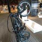 DAHONインターナショナル NUWAVE16 コロコロ転がせる縦置き自転車