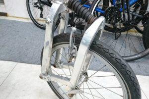 10何年経った自転車 整備次第でちゃんと動くもんです
