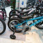 新年はお年玉で自転車デビュー マリン ドンキーJr