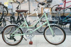 NESTOのミニベロ リフモ 手頃でかわいい20インチ自転車です