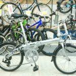 折り畳み自転車のベーシックモデル DAHON ルート