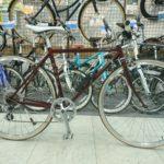 クロモリのクロスバイク FUJIのバラッド