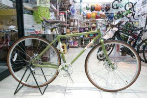 クラシックなシンプルクロスバイク masi sesto 8speed