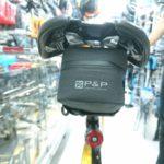 ロードバイクにおすすめのサドルバッグ P&P スマートサドルバッグ