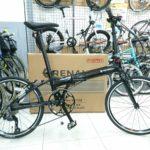 高速折り畳み軽量自転車 ルノー プラチナマッハ8
