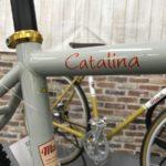 マジーのツーリングバイク 最後の1台です カタリナクラリス2x8 グレー
