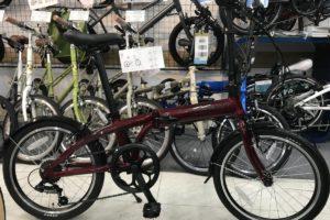 "<span class=""title"">畳んで玄関に置いたり いろいろ便利な折り畳み自転車 ターン リンクA7</span>"